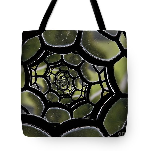 Spider's Web. Tote Bag by Clare Bambers