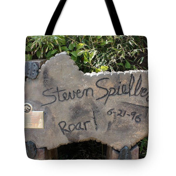 Spielberg's Ride Tote Bag