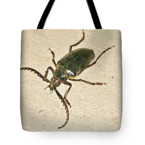 Tote Bag featuring the photograph Spike by Angela J Wright
