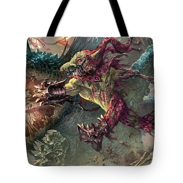 Spike Jester Tote Bag