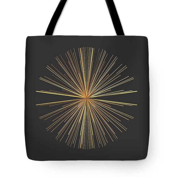 Tote Bag featuring the digital art Spikes... by Tim Fillingim