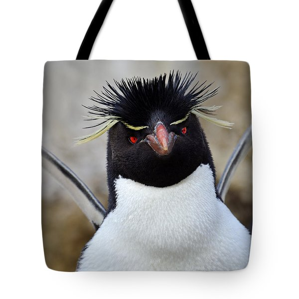 Spiky Tote Bag by Tony Beck