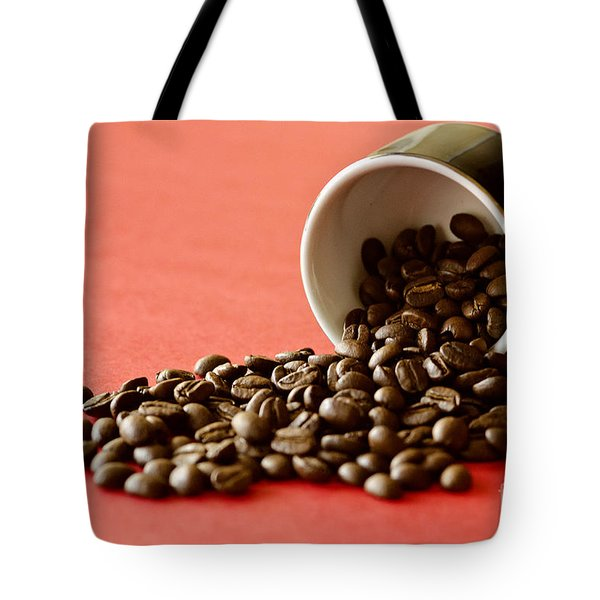 Spill The Beans Tote Bag