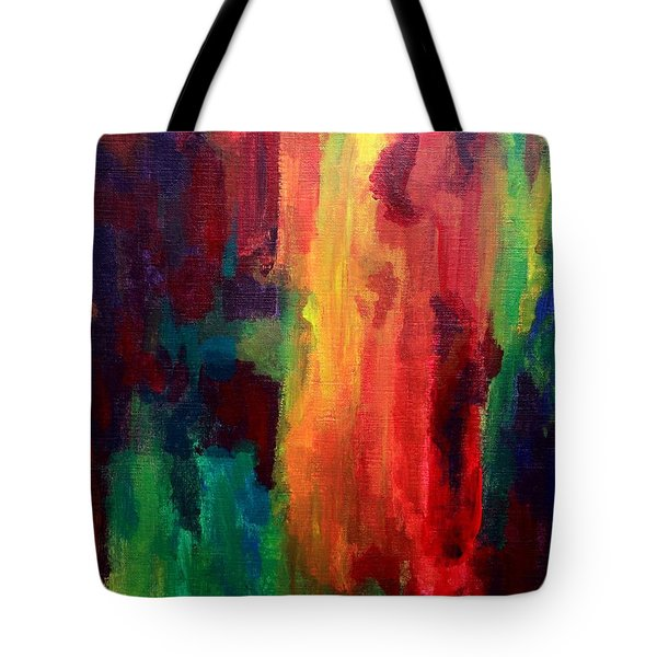 Spilling Rainbows Tote Bag