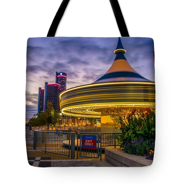 Spin Me Round Tote Bag