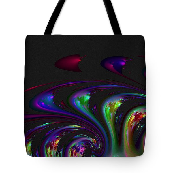 Spin Off Tote Bag by Judi Suni Hall