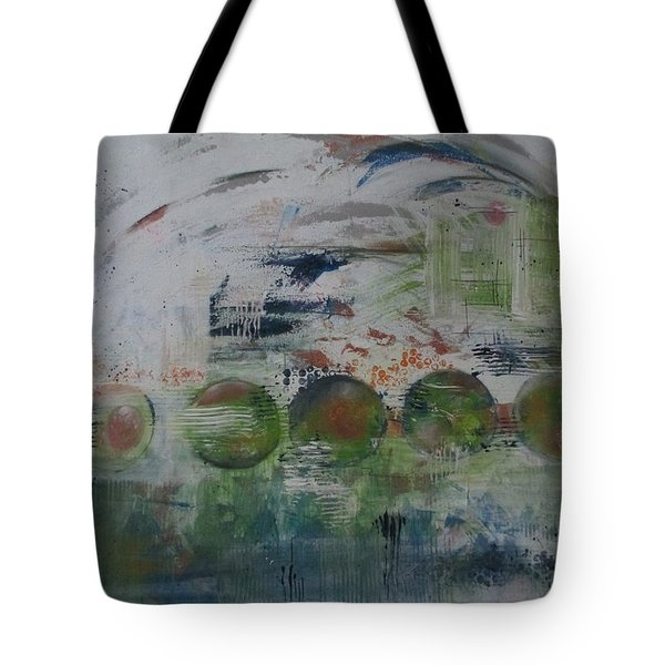 Spin The Earth Tote Bag