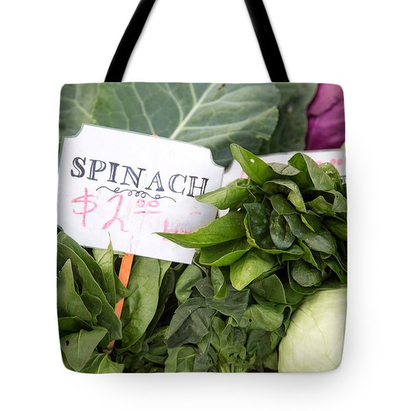 Spinach Tote Bag