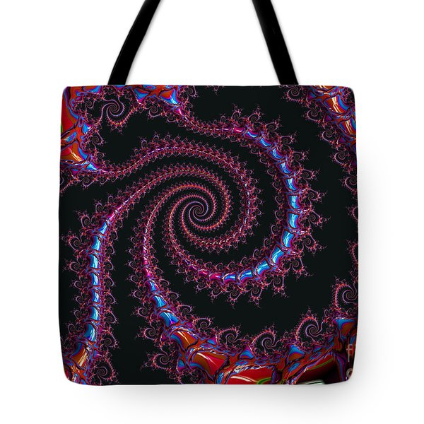 Spinal Twist Tote Bag