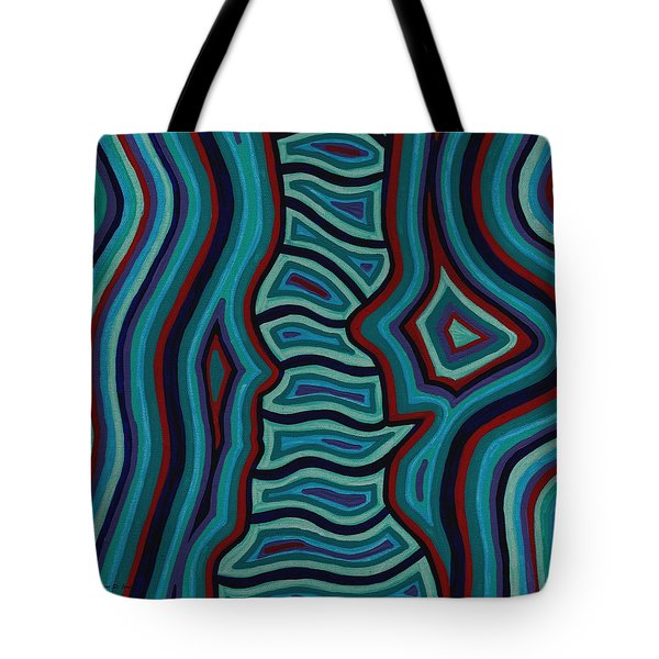Spine Talk Tote Bag