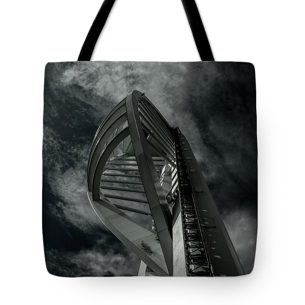 Spinnaker Tower Portsmouth Uk Tote Bag