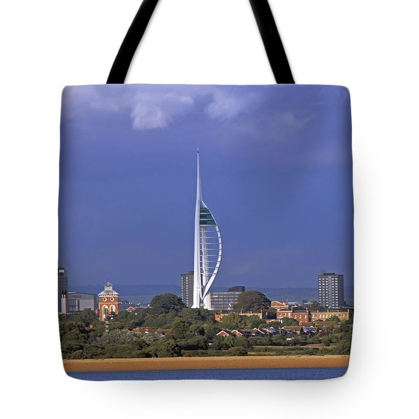Spinnaker Tower Tote Bag
