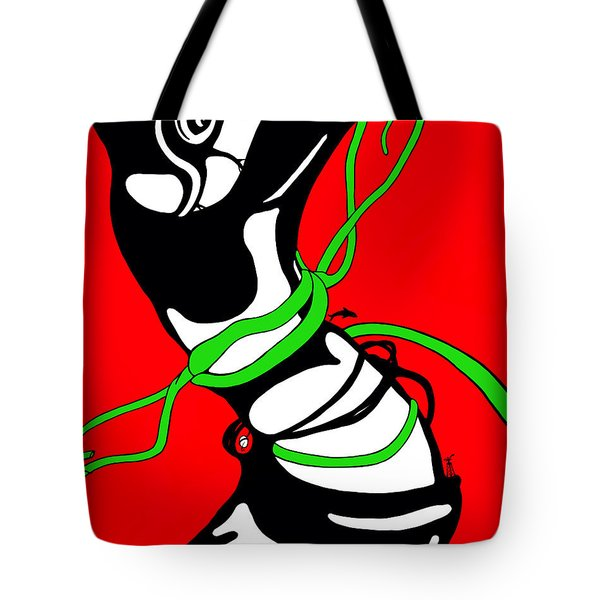 Spinner Tote Bag
