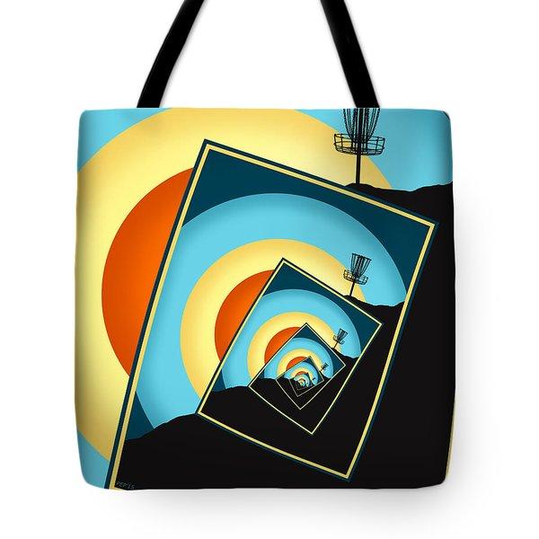 Spinning Disc Golf Baskets 1 Tote Bag