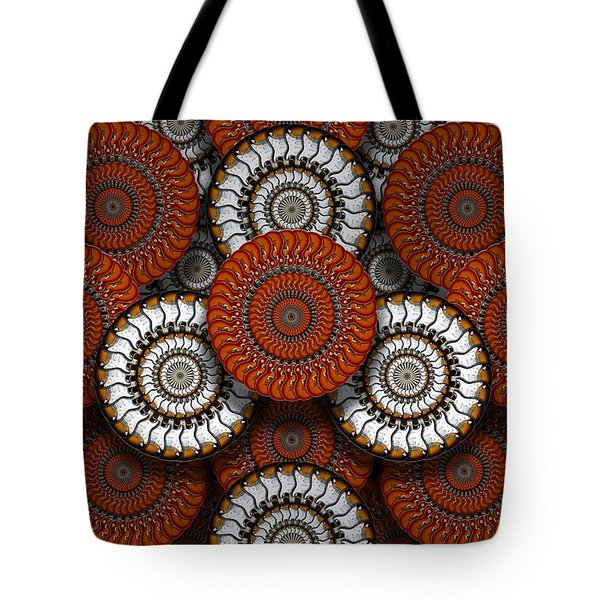 Spinning In Harmony  Tote Bag by Mike McGlothlen