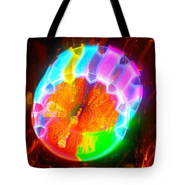Spinning Orb In The Cosmos Tote Bag