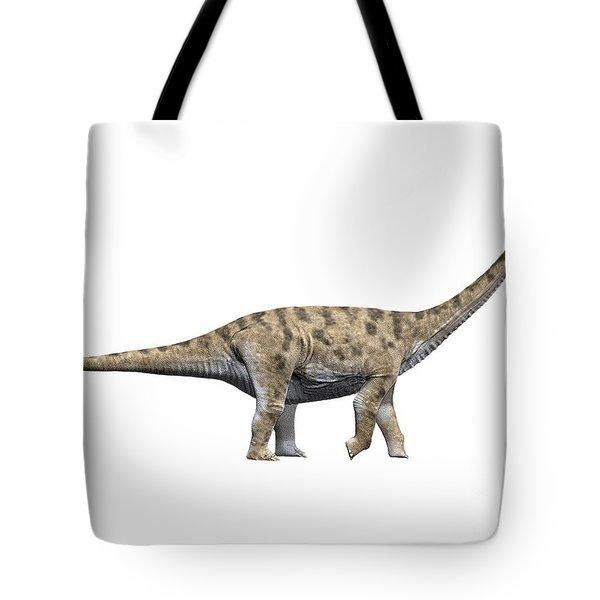 Spinophorosaurus Nigerensis, Middle Tote Bag by Nobumichi Tamura