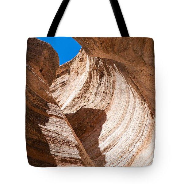 Spiral At Tent Rocks Tote Bag