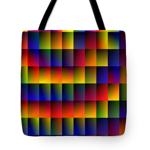 Spiral Boxes Tote Bag