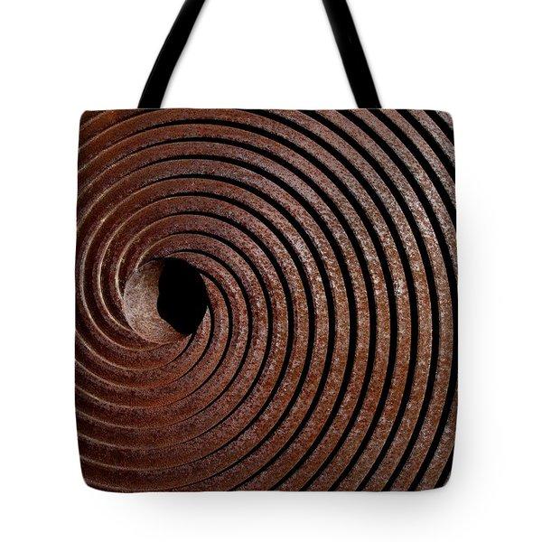 Spiral Tote Bag by David Pantuso