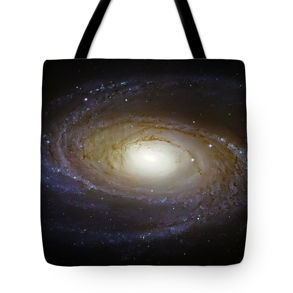 Spiral Galaxy M81 Tote Bag by Jennifer Rondinelli Reilly - Fine Art Photography