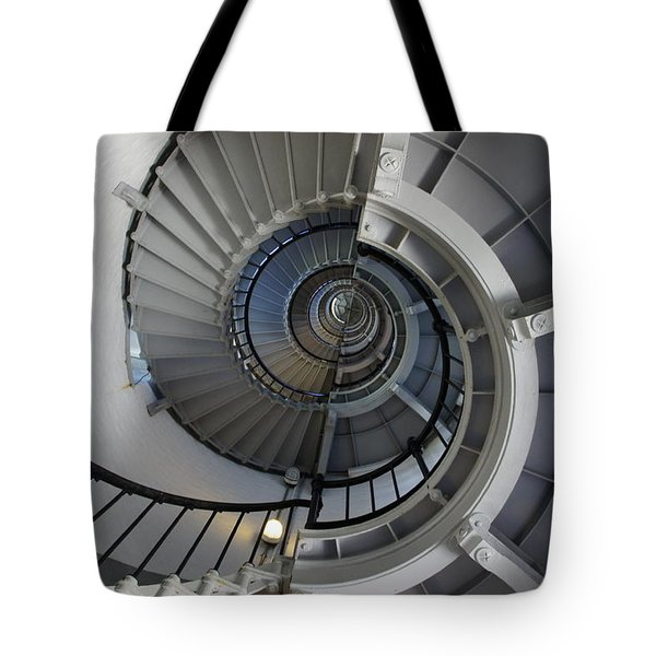 Tote Bag featuring the photograph Spiral by Laurie Perry