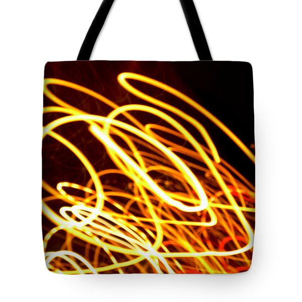 Spiral Light Among Dwellers About The City 2 Tote Bag