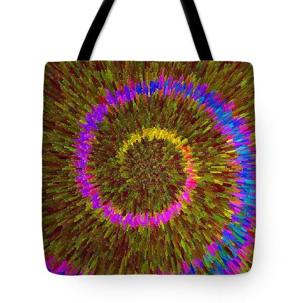 Spiral Rainbow IIi C2014 Tote Bag by Paul Ashby