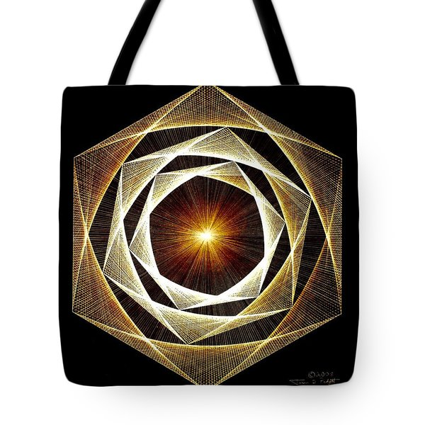 Spiral Scalar Tote Bag