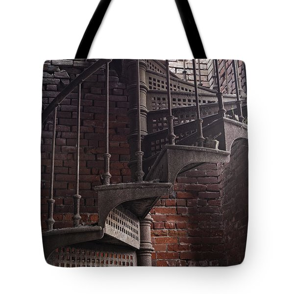 Spiral Staircase Depot Tote Bag
