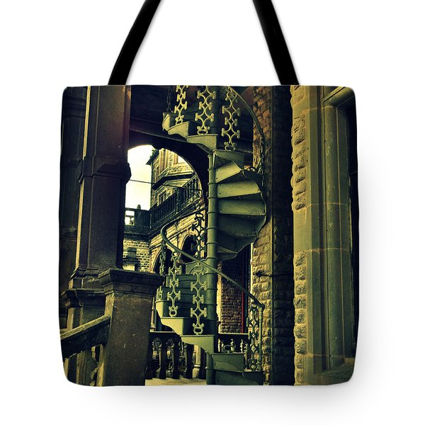 Spiral Staircase Tote Bag by Salman Ravish
