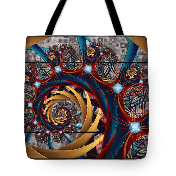 Spiraling Tote Bag by Kim Redd