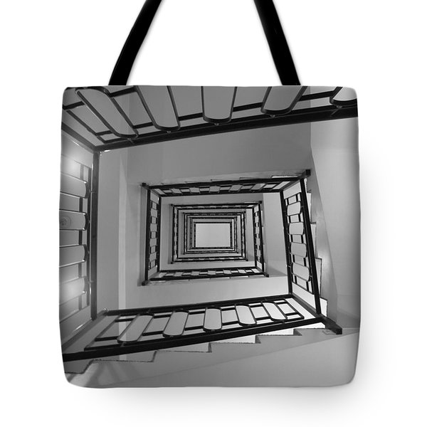 Tote Bag featuring the photograph Spirals by Lisa Parrish