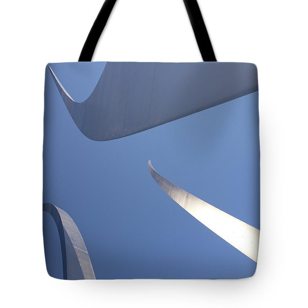 Spires Of The Air Force Memorial In Arlington Virginia Tote Bag
