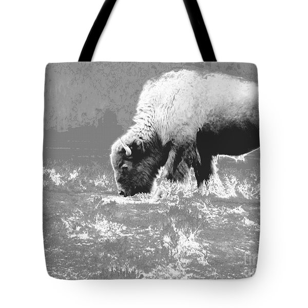 Spirit Bison Tote Bag