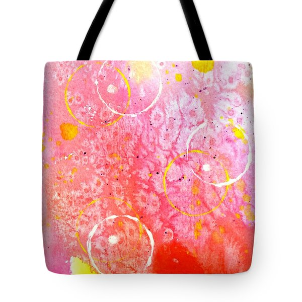 Spirit Dance Tote Bag by Desiree Paquette
