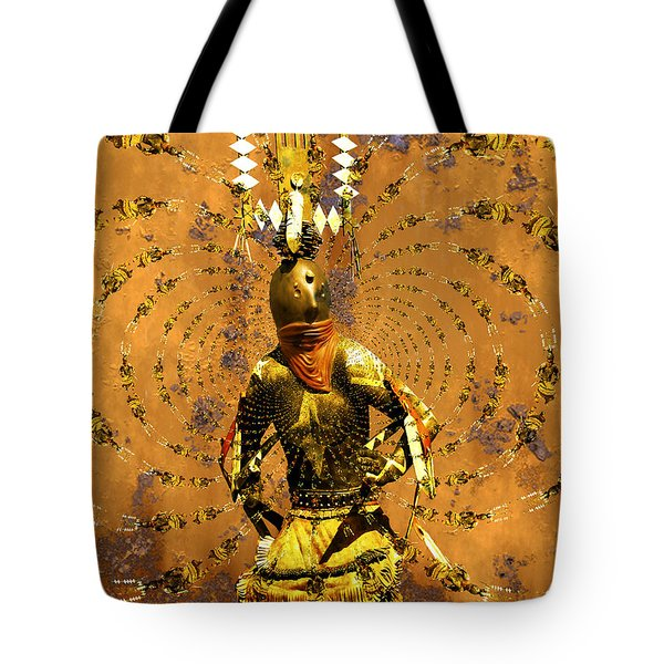 Spirit Dance Tote Bag by Kurt Van Wagner