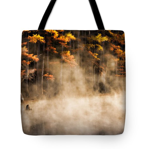 Tote Bag featuring the photograph Spirit Dance by Lana Trussell