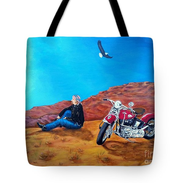 Spirit Eagle Tote Bag