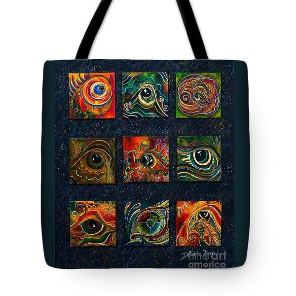 Spirit Eye Collection I Tote Bag by Deborha Kerr