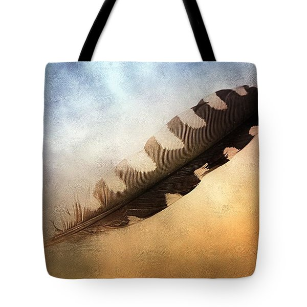 Spirit Feather Tote Bag