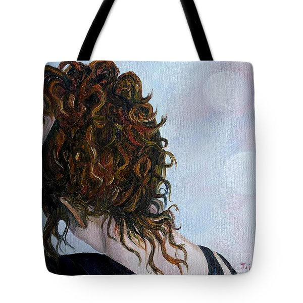 Spirit Guides Tote Bag by Julie Brugh Riffey