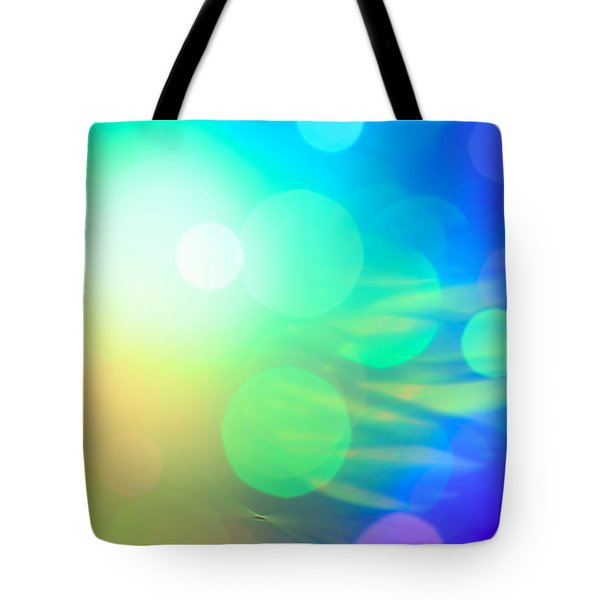 Spirit In The Sky Tote Bag by Dazzle Zazz