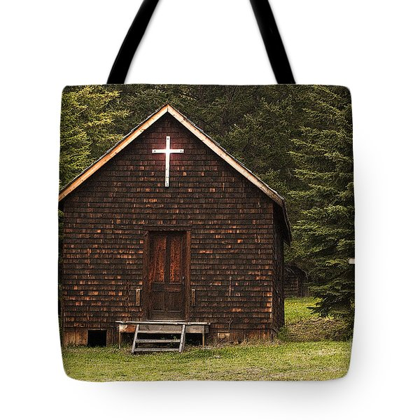 Spirit In The Woods Tote Bag by Sandi Mikuse