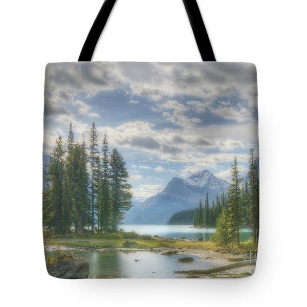 Spirit Island Tote Bag by Wanda Krack