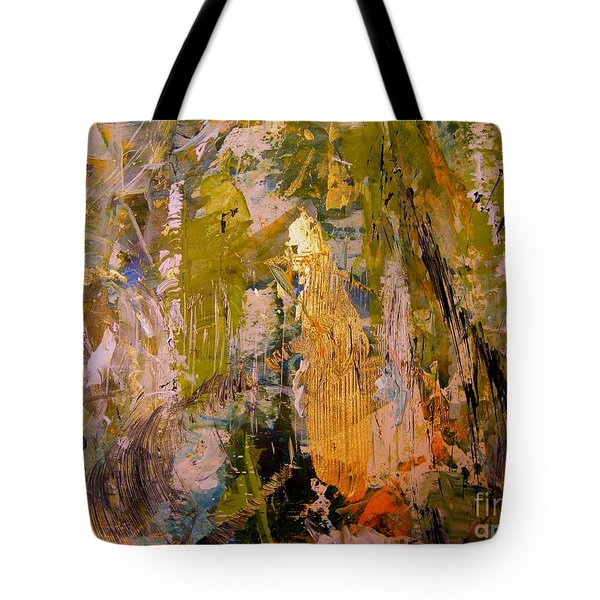 Tote Bag featuring the painting Spirit by Nancy Kane Chapman