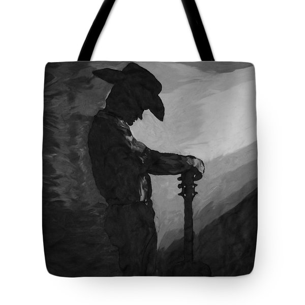 Spirit Of A Cowboy Tote Bag