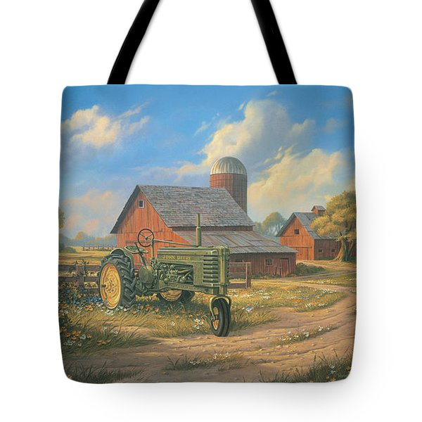 Spirit Of America Tote Bag by Michael Humphries