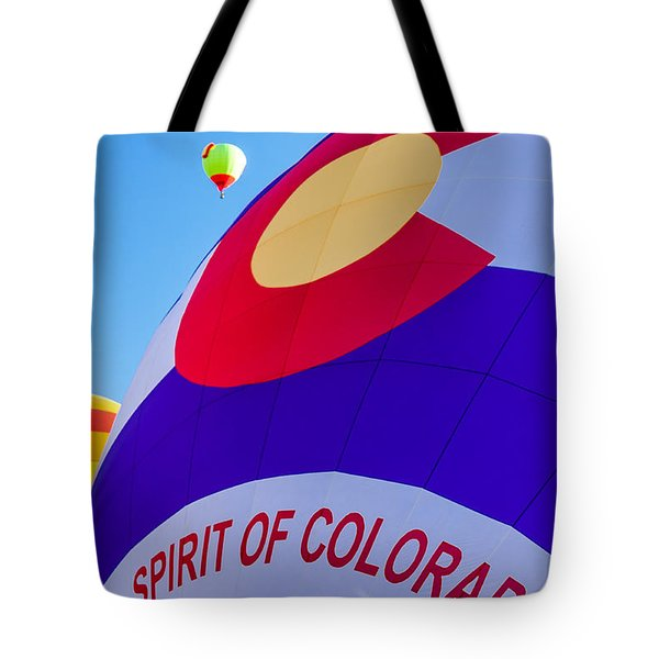 Spirit Of Colorado Proud Tote Bag
