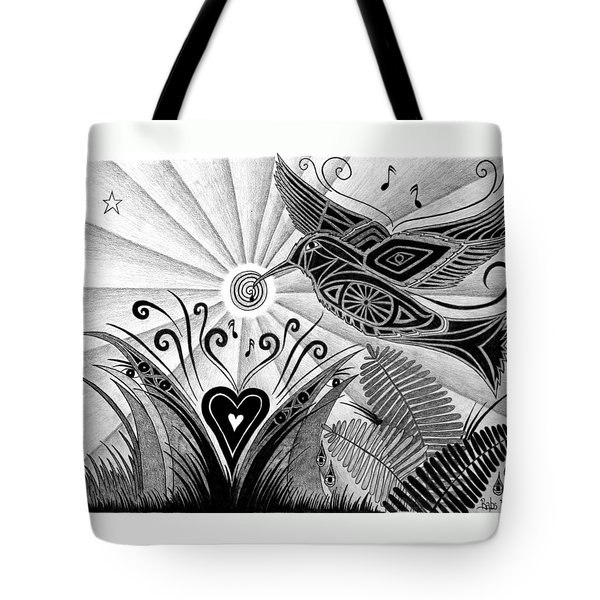 Spirit Of Joy  Tote Bag